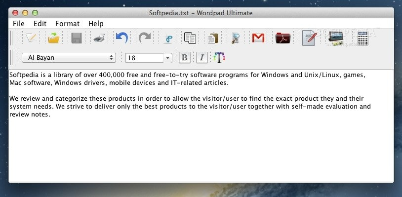 Download wordpad for mac