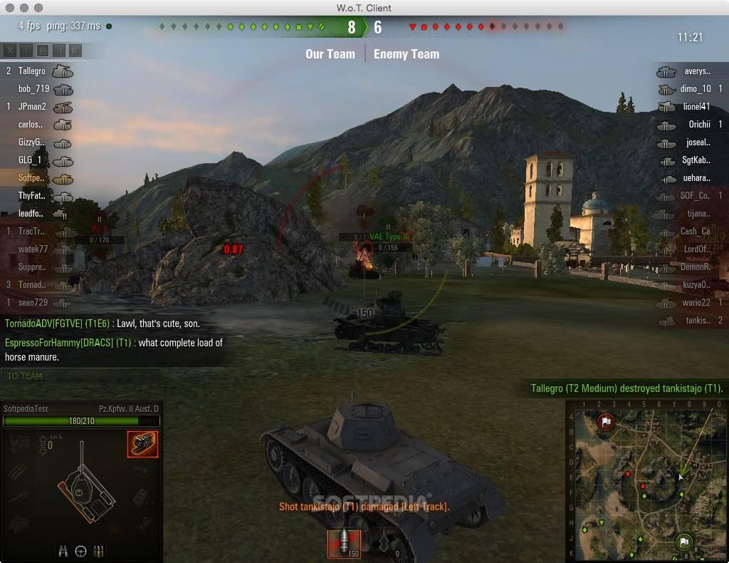 World of Tanks Mac 2 0 29 - Download