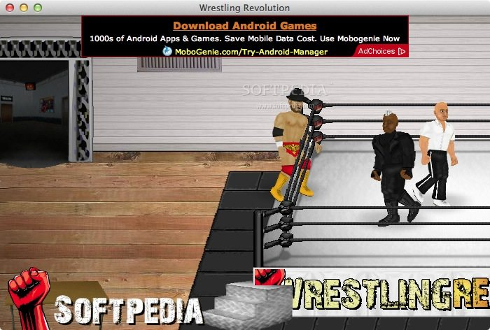wrestling revolution how to get a contract