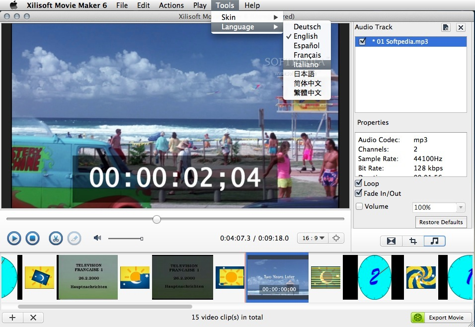 how to use movie maker on mac