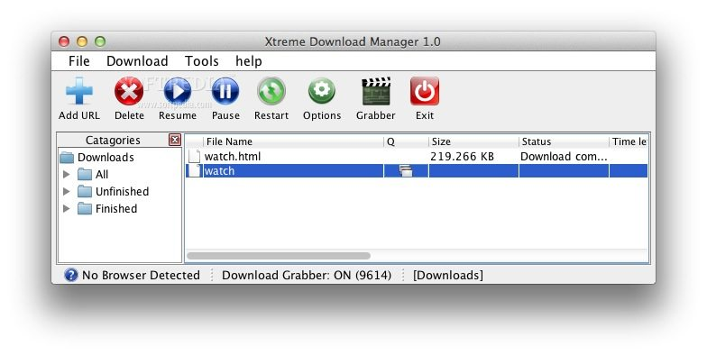 how to use extreme download manager