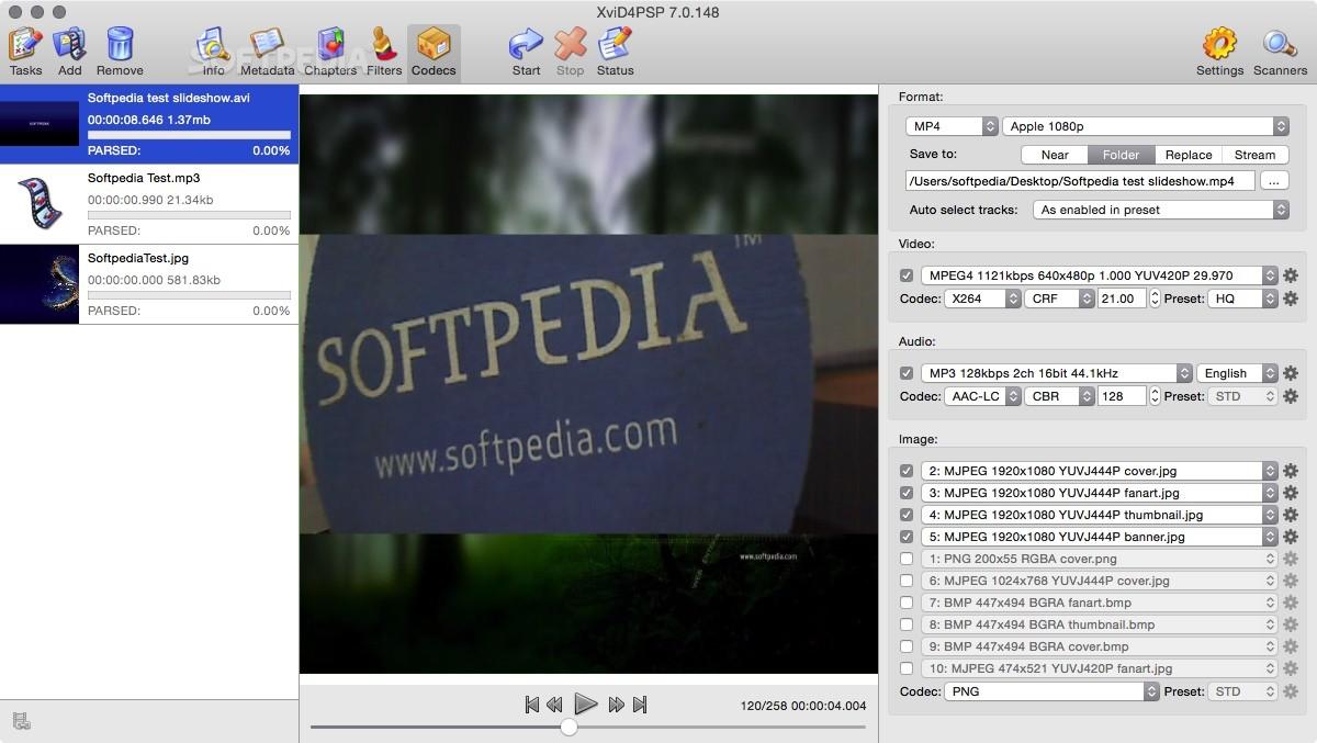GRATUIT 5.0 TÉLÉCHARGER XVID4PSP