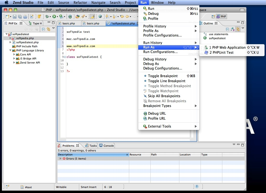 Download Zend Studio - the Leading PHP Editor