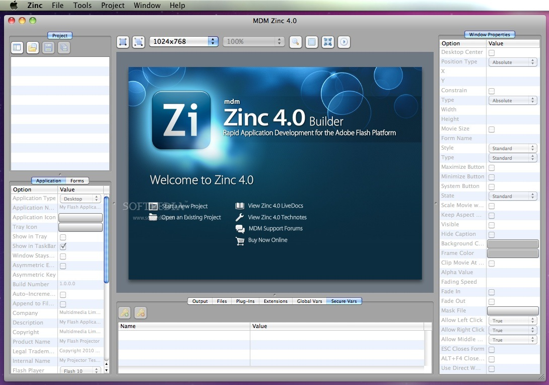 Zinc screenshot 2