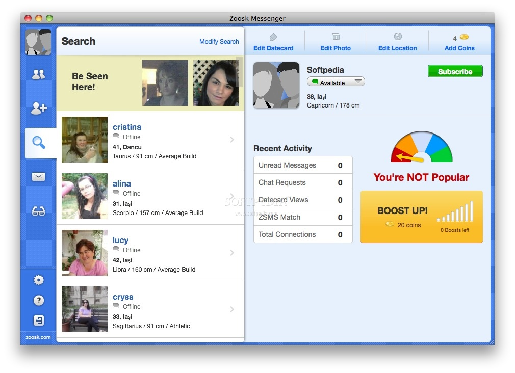 zoosk free download