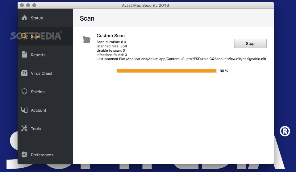 Avast Security (formerly Avast Free Mac Security) 13 4 Build 338ddb6525b2 -  Download