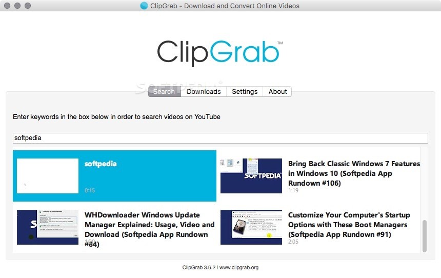 ClipGrab Mac 3 8 4 - Download