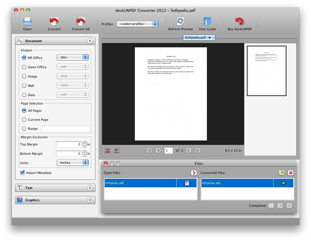 Download Free DeskUNPDF Professional, DeskUNPDF ...