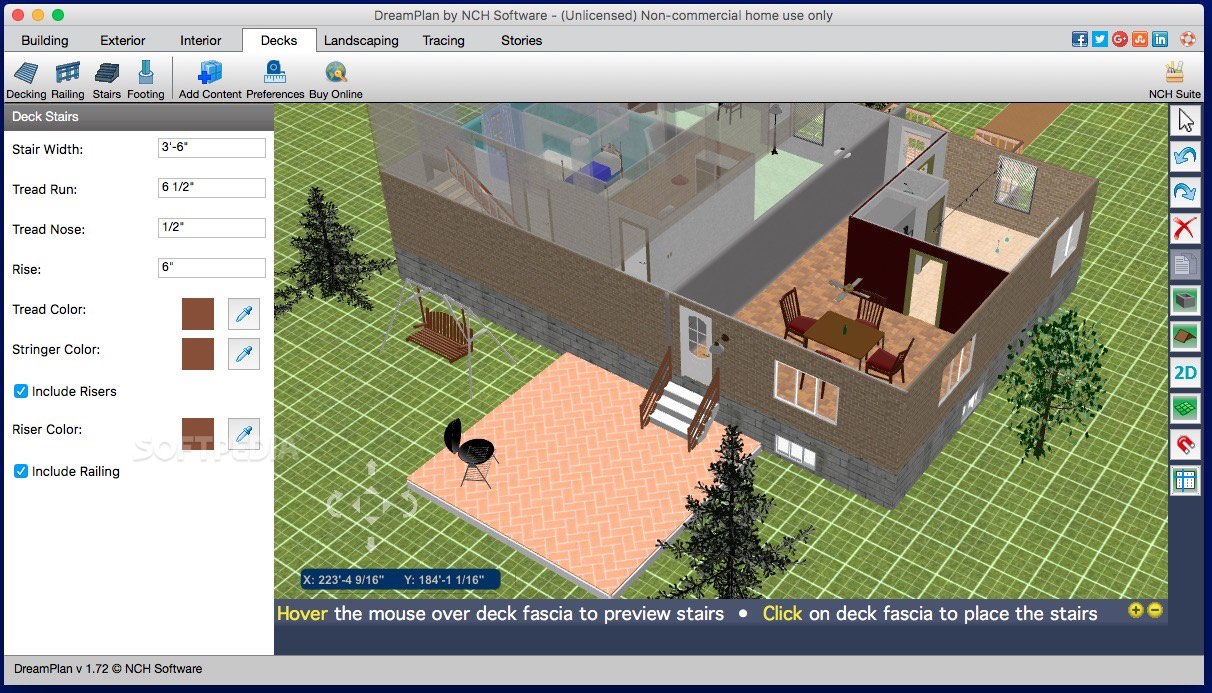 dreamplan home design and landscape software download mac