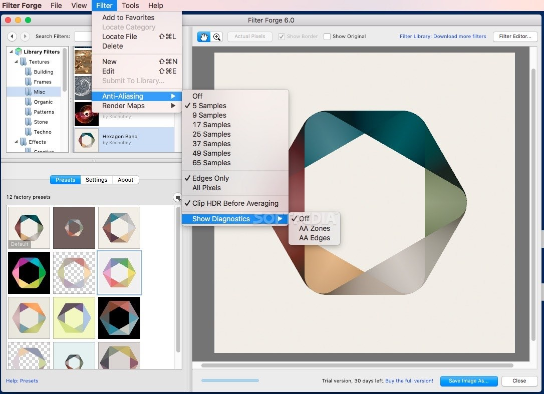 filter forge mac free download