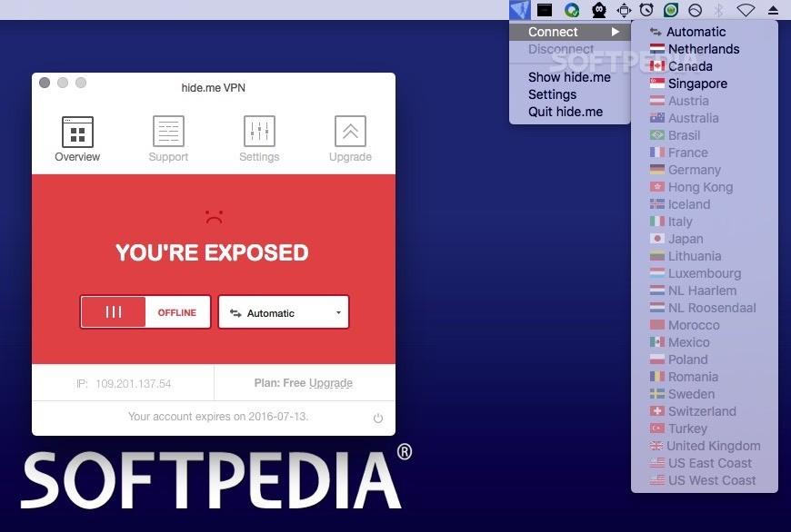 hide me VPN Mac 3 1 0 - Download