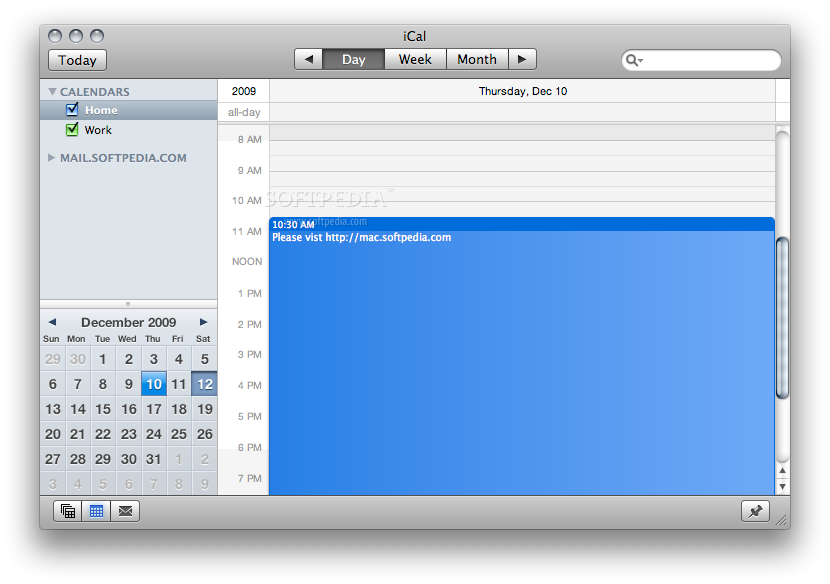 how to add a calendar to ical
