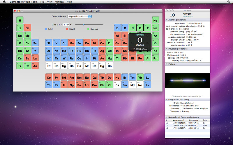 iElements Periodic Table screenshot 2