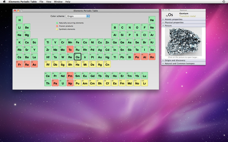iElements Periodic Table screenshot 3