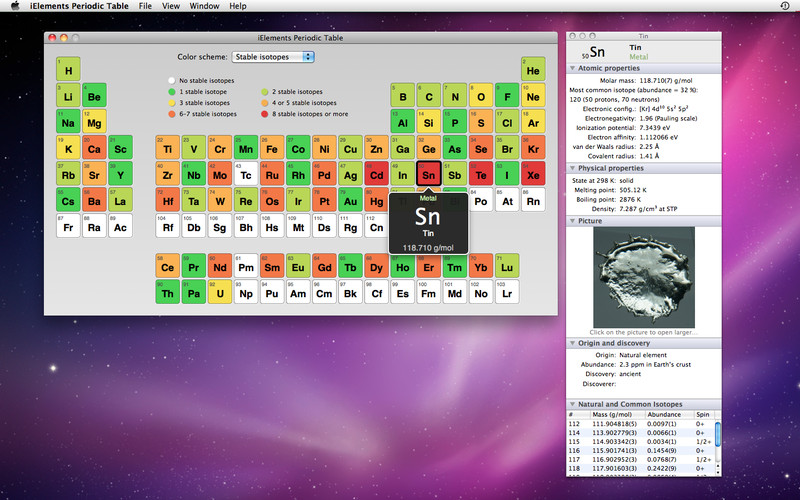 iElements Periodic Table screenshot 5