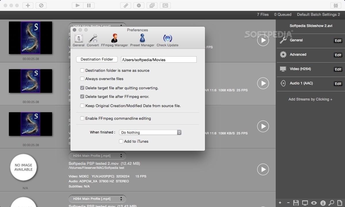 ff·Works (formerly iFFmpeg) Mac 1 4 2 - Download