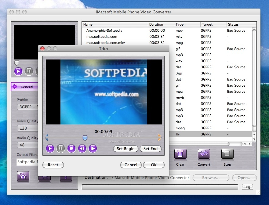 iMacsoft Mobile Phone Video Converter screenshot 5