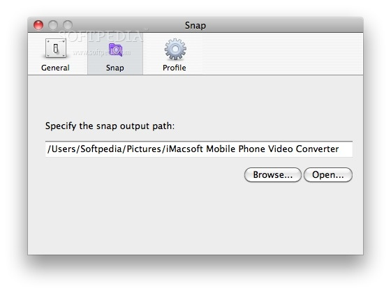 iMacsoft Mobile Phone Video Converter screenshot 7