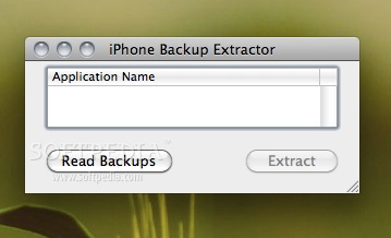 iPhone Backup Extractor screenshot 1