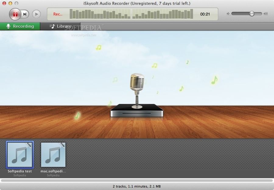 iSkysoft Audio Recorder Mac 2 4 0 - Download