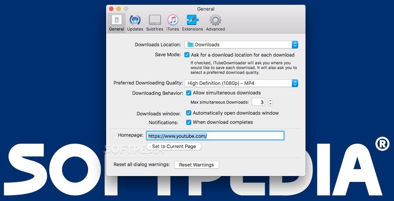 iTubeDownloader Mac 6 4 15 - Download