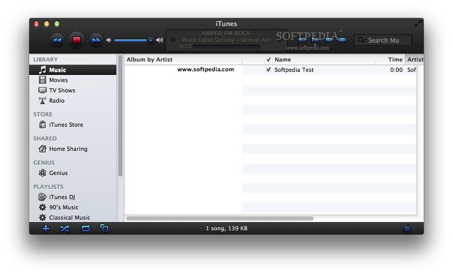 iTunes Ice screenshot 1