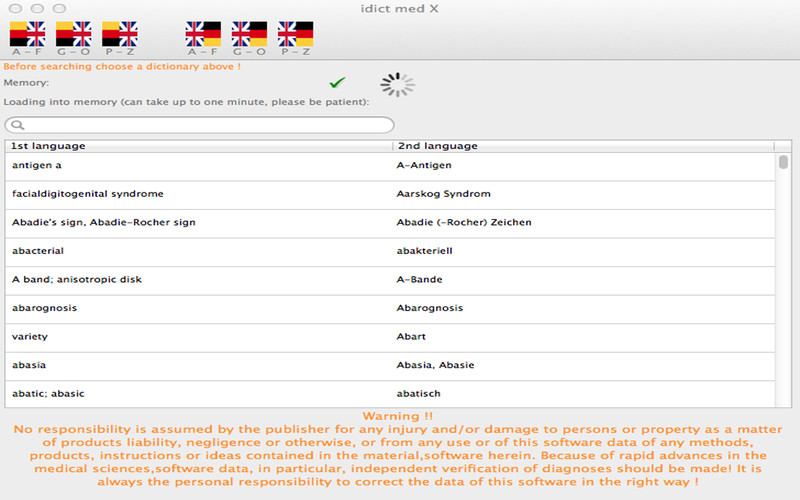 idict med-X screenshot 4