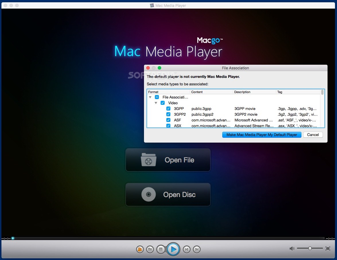Mac Media Player 2 17 2 2614 - Download