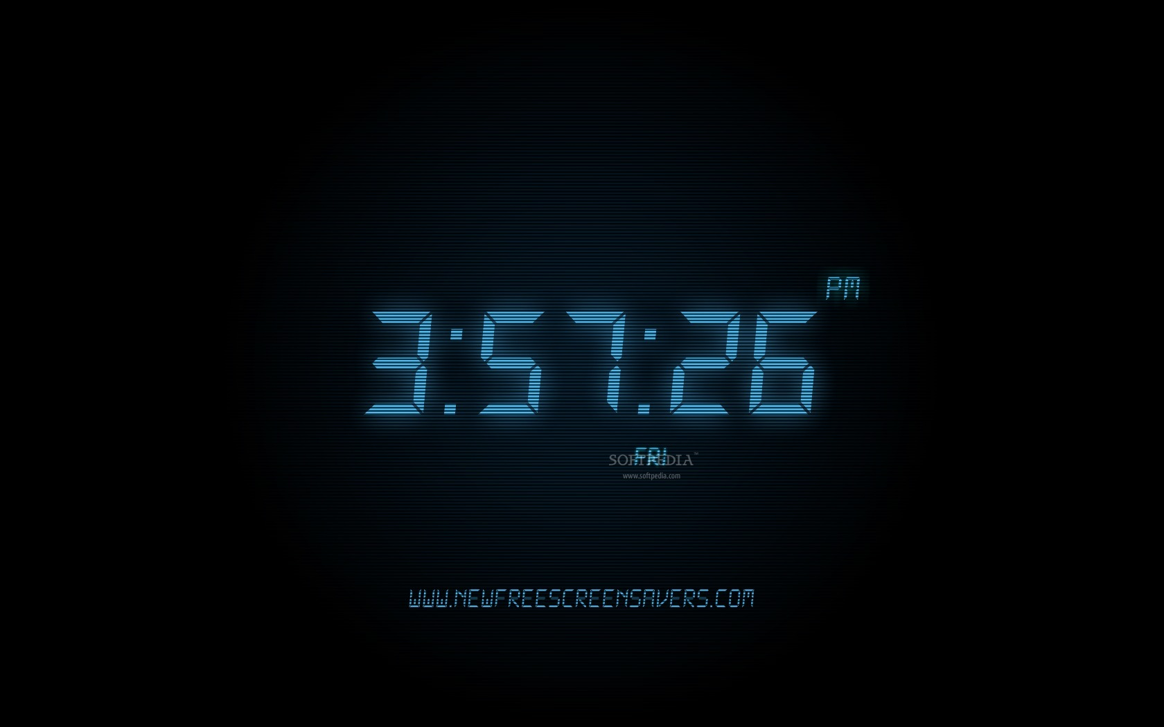 Digital Clock Wallpaper For Windows 7 images