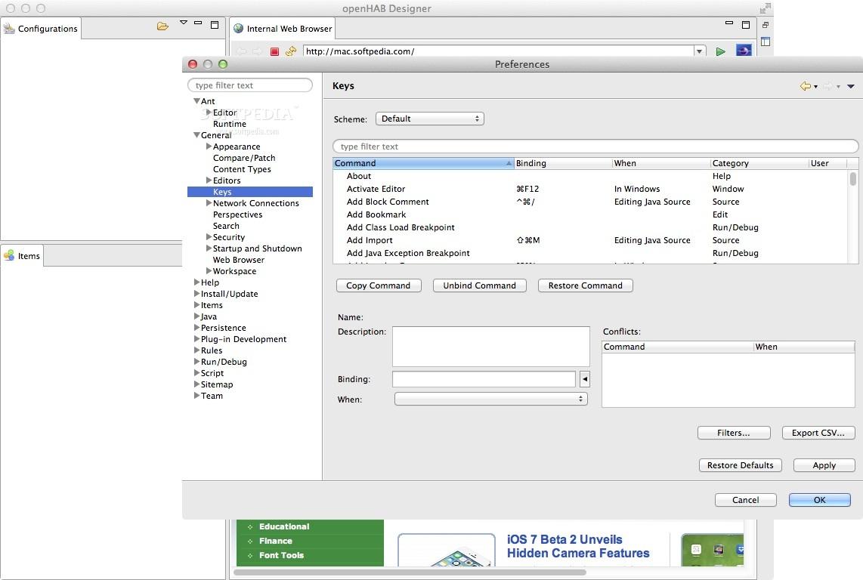 openHAB Mac 2 3 0 - Download