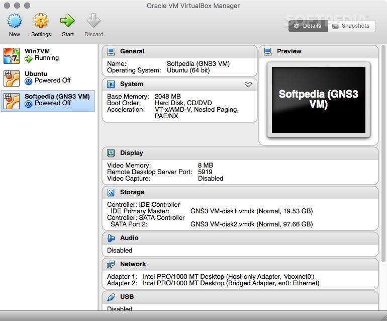 Oracle VM VirtualBox Mac 6 0 10 Build 132072 - Download