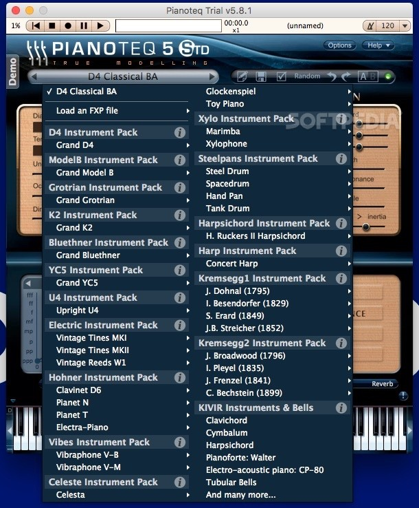 Pianoteq Mac 6 5 4 - Download