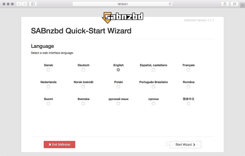 SABnzbd Mac 2 3 9 - Download