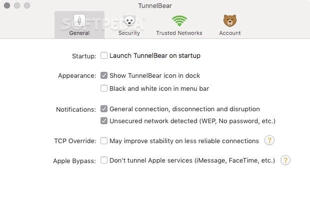 TunnelBear Mac 3 9 1 - Download