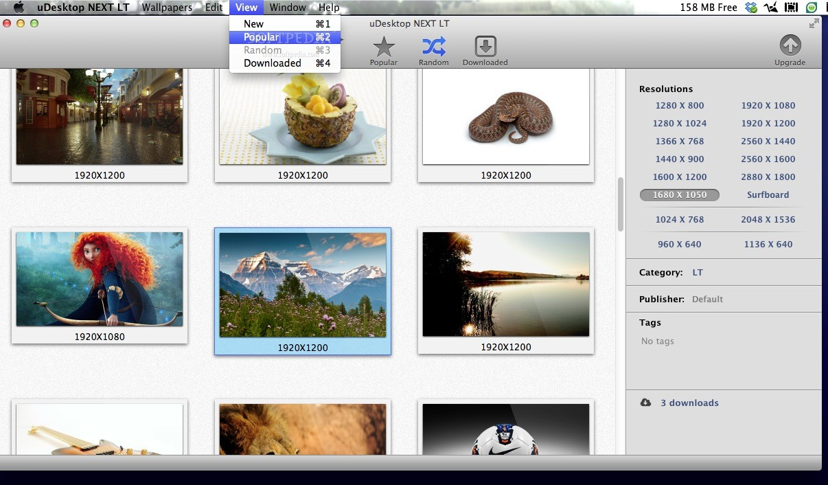 uDesktop HD screenshot 3
