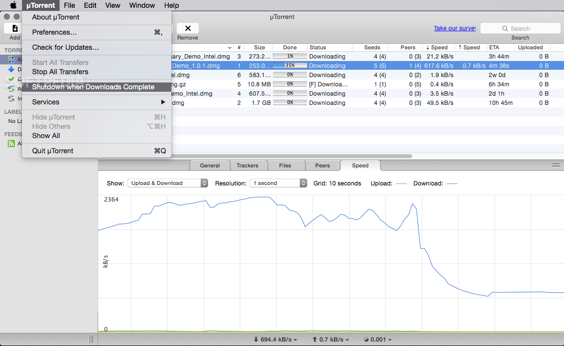 utorrent 1.8.8