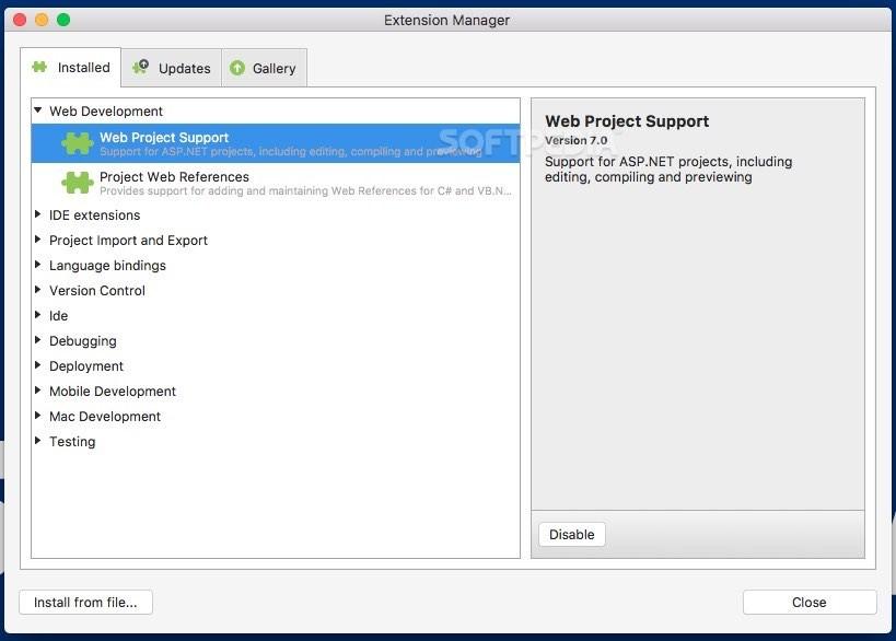Visual Studio Mac 8 2 6 Build 26 - Download