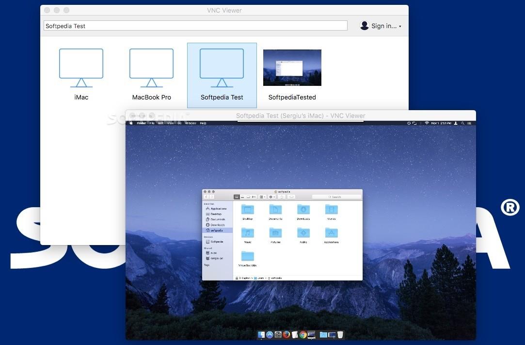 VNC Viewer Mac 6 19 715 - Download